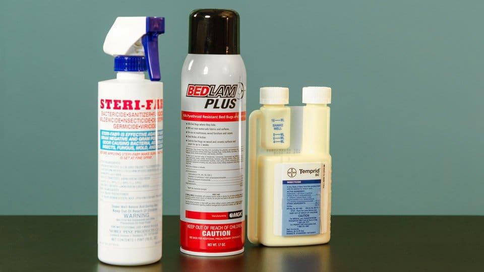 bedbug sprays
